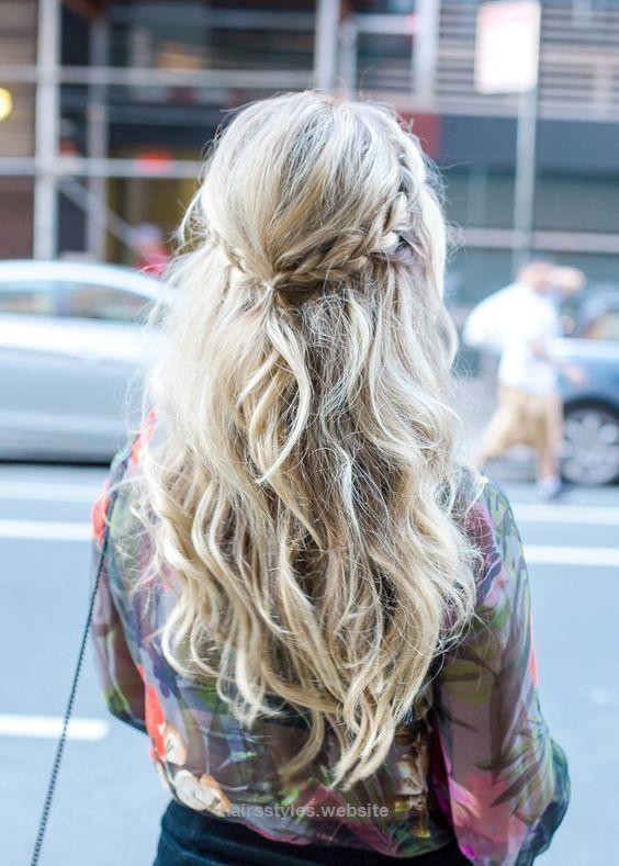 Cowgirl Hairstyles Gorgeous Dutch Braid Boho Hairstyle #cowgirl #hairstyle #cowgirlhairstyle Www