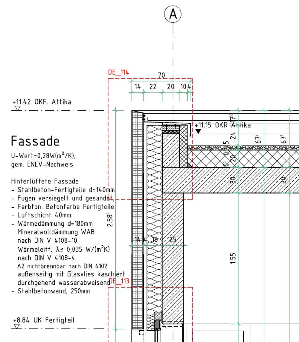 bildergebnis f r rund beton fassade detail pinterest fassaden runde und pfosten riegel. Black Bedroom Furniture Sets. Home Design Ideas