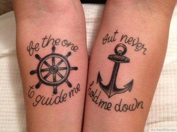 50 Adorable Couple Tattoo Designs And Ideas Bff Tatuajes