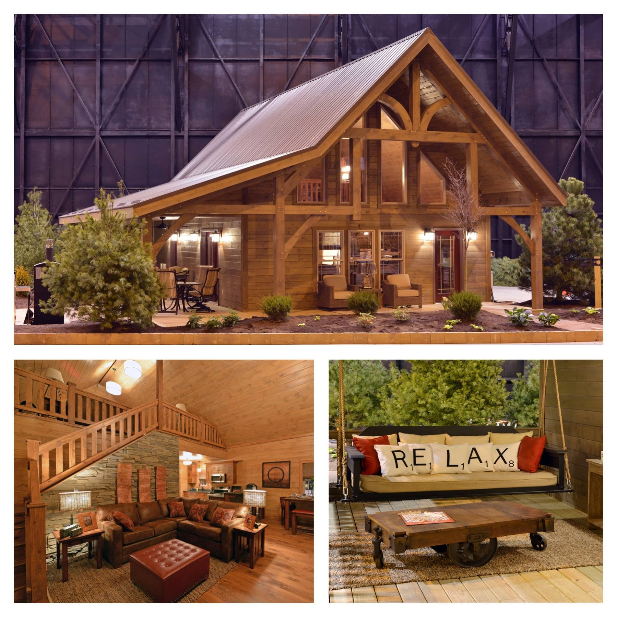 The Timber Lodge From Weaver Barns Is The Highlight Of