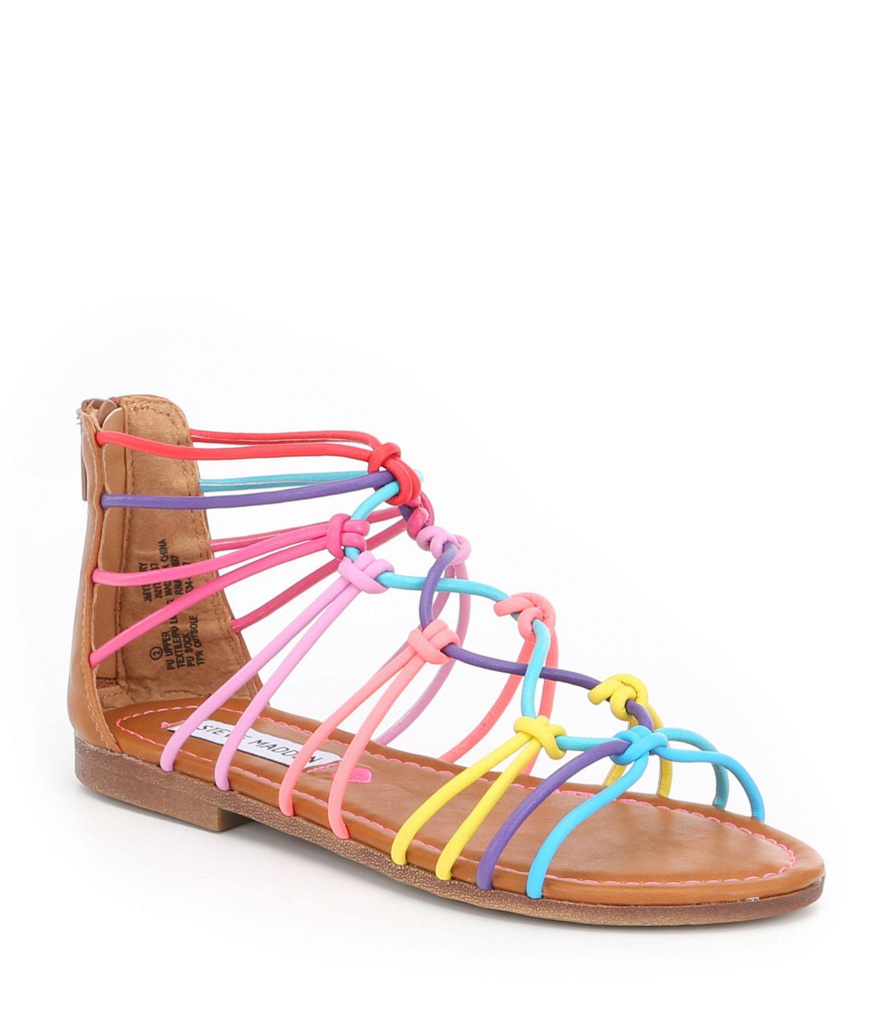 eef4622d4d2a Steve Madden Girls JMystery Sandals  Dillards