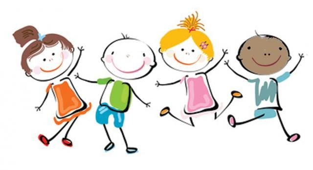 Happy Kids Clip Art Kids Clipart Mini Books Clip Art