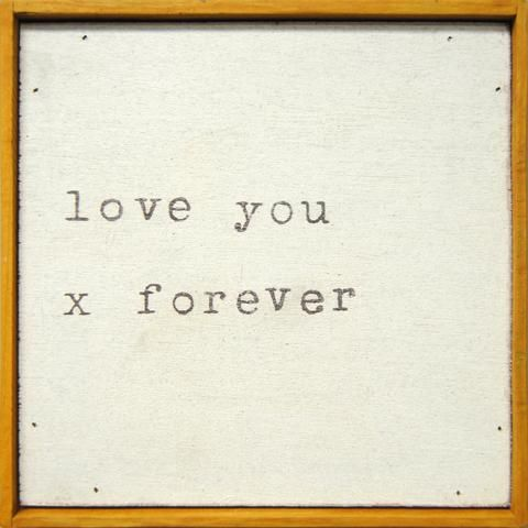 Oxford LAP - Love You X Forever Print