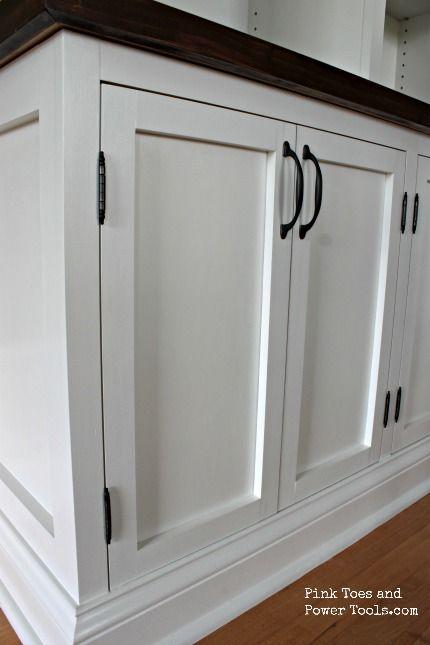 A Diy Girl With A Blog Diy Cabinet Doors Diy Cupboard Doors Diy Cupboards