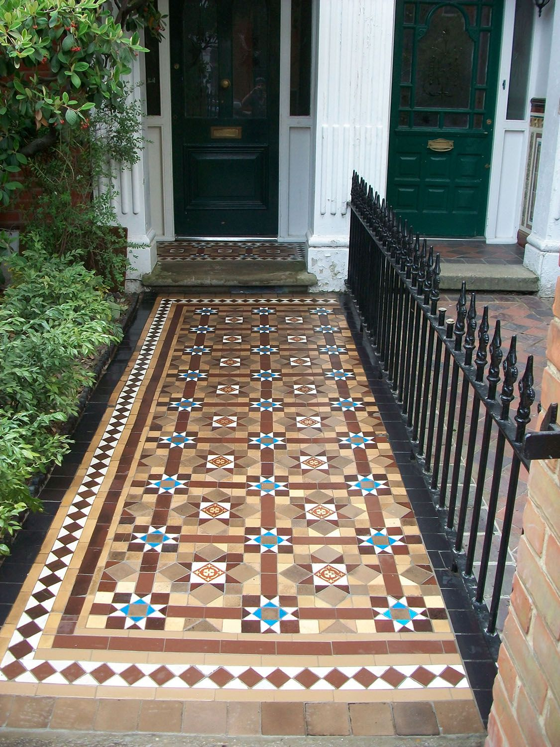 We Supply Fit And Re Victorian Path Tiles Interior Tiled Hallways In The London Area
