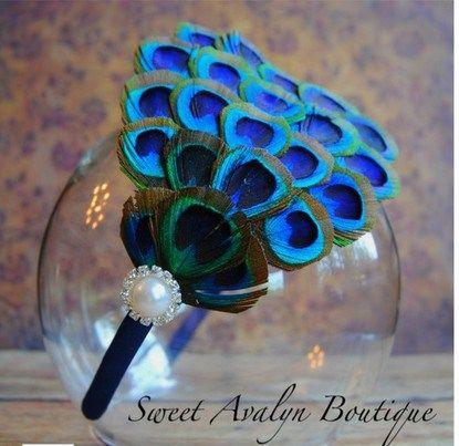 Peacock Feather Craft Ideas