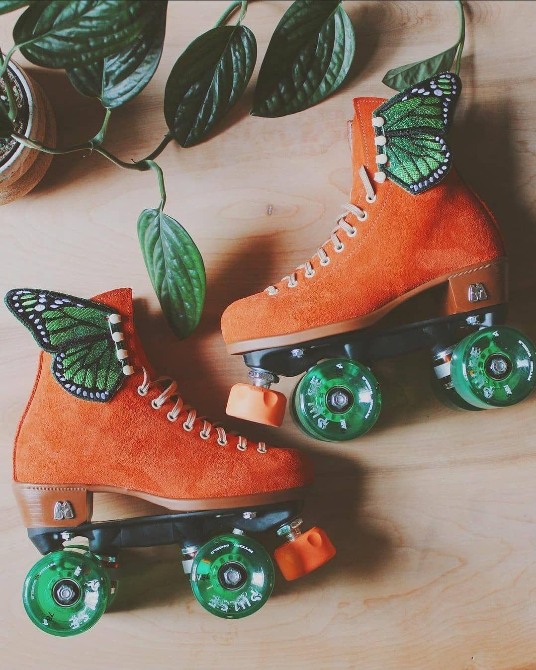 Roller Skate On Instagram Lunasibai Skate Setup This Color Combo Is Beautiful Rol Roller Skating Outfits Roller Skates Vintage Roller Skates Fashion