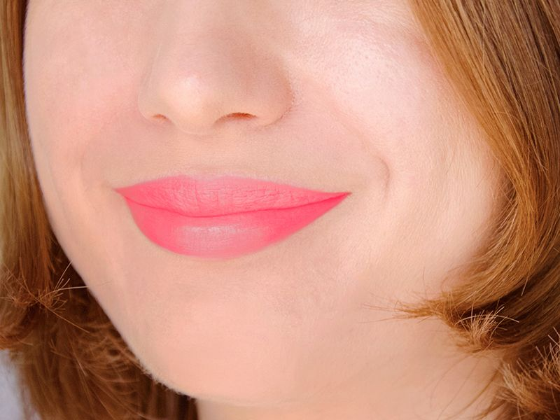 Crayons à lèvres mats Color Drama Lipstick rose corail (In ...