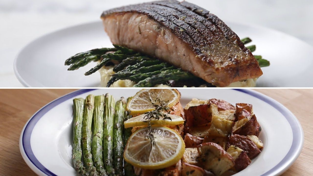 Easy vs gourmet salmon dinner youtube recipes fish seafood easy vs gourmet salmon dinner youtube forumfinder Choice Image
