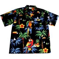 "Hawaiihemd / Hawaii Hemd ""Hawaiian Parrots 2.0""Hawaiihemdshop.de"