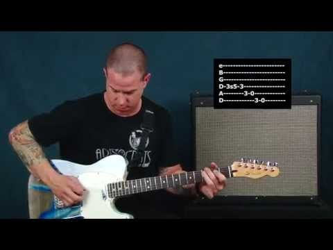 Country guitar lesson old school sounds with phaser Hank Williams ...