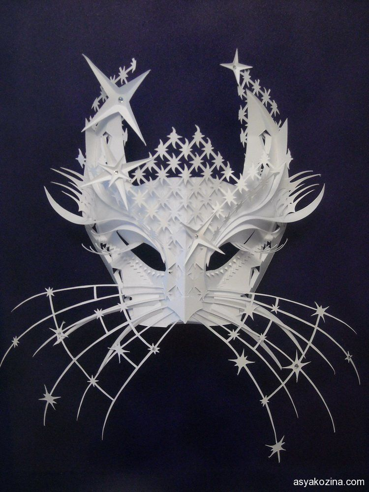 Mask from paper