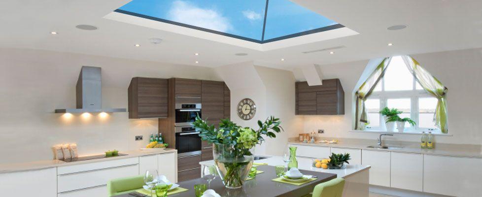 Kitchen Skylight Glazing Kitchen Lighting Roof