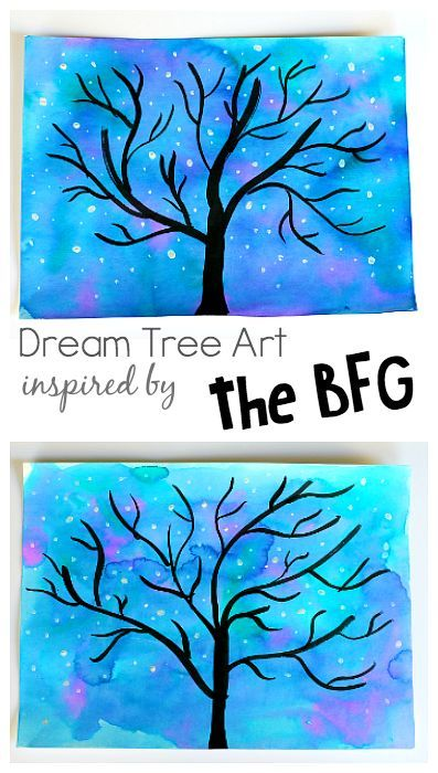 Dream Tree Art Project For Kids Inspired By Disneys The BFG