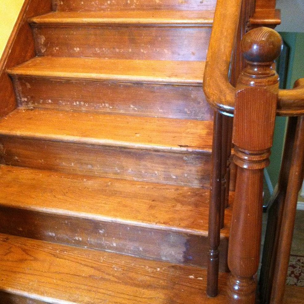 Best Reconditioning Or Refinishing Wood Staircase Wood 400 x 300
