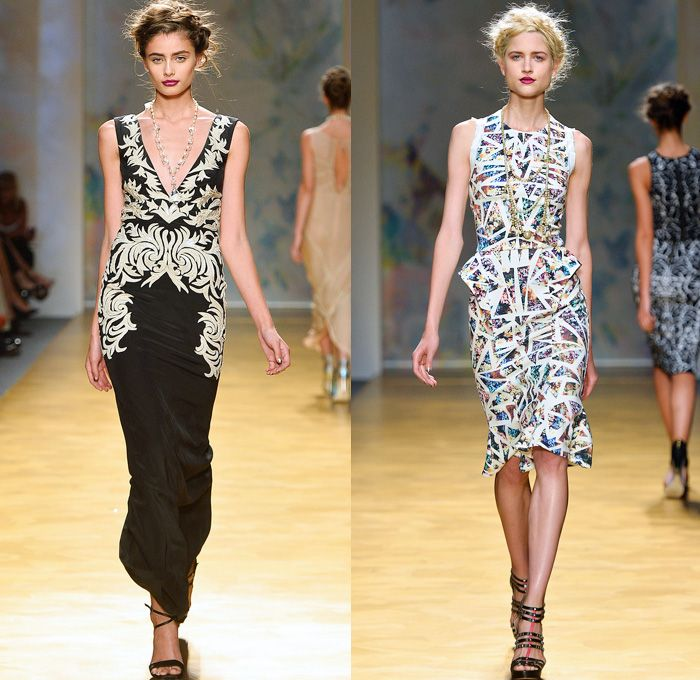 c86bbf2fe Nicole Miller 2014 Spring Womens Runway Collection - New York ...