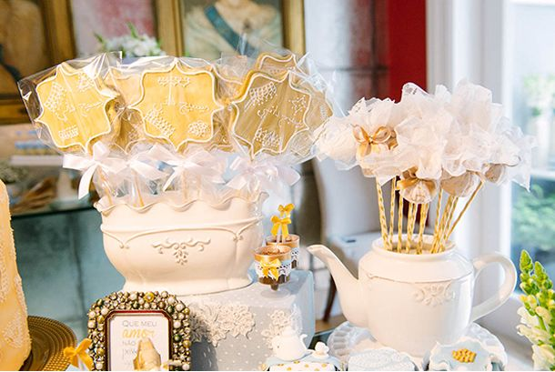 festa chá imperial, festa meninos, festa chá de bebê, aniversário, tema festa aniversário, decoração azul e dourado, principe, boys party, party decor