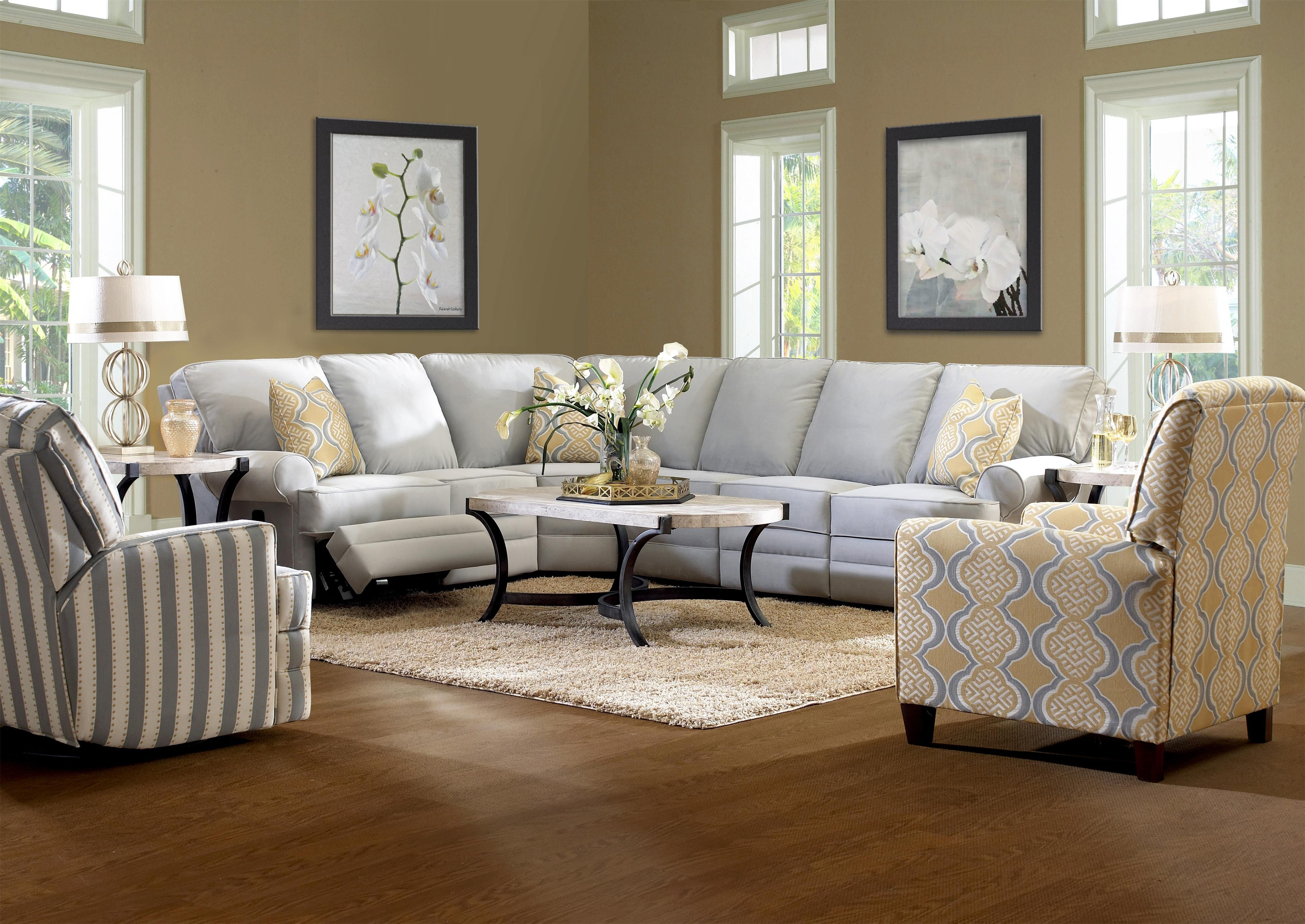 in reviews furniture klaussner fletcher loomis sofa microsuede canyon sky sa sectional blue slipcovered sleeper