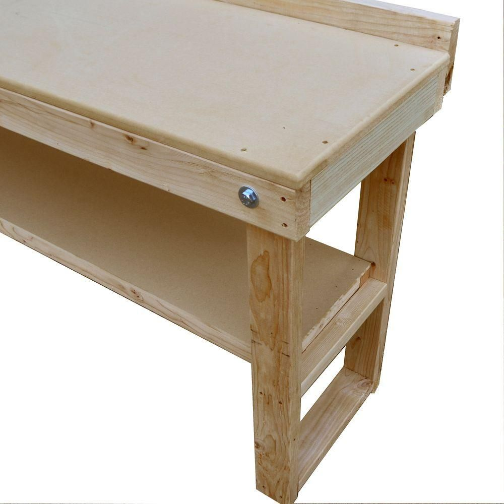 Exceptional Fold Out Wood Workbench