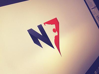 N7 Logo Logo Design Typography N Logo Design Logo Design