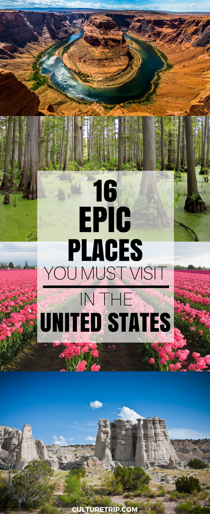 16 Epic Places in the United States Even Americans Don't Know About