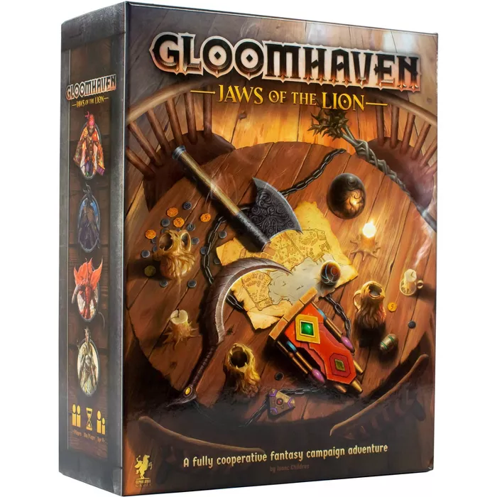 Gloomhaven Jaws of the Lion Board Game in 2020 Cards