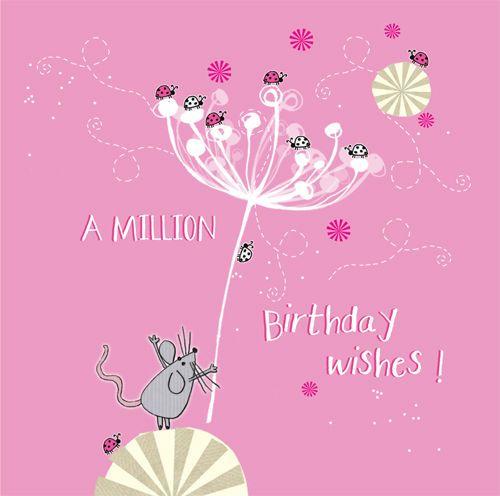"Funny Birthday Wishes Pink: ""�iiiii┐ A Million Birthday Wishes"
