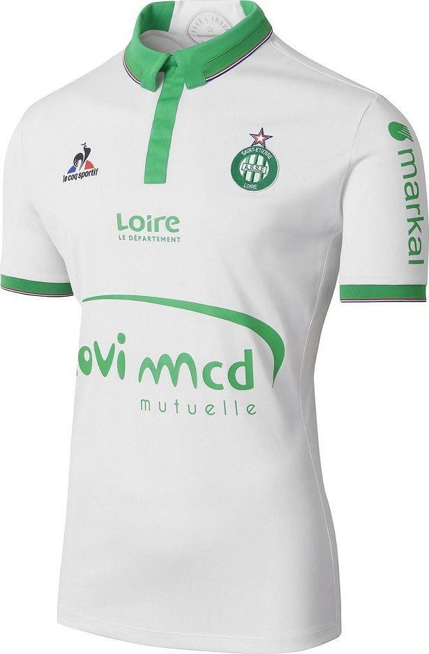 fdbe57c7e3 Le Coq Sportif divulga novas camisas do Saint-Etienne - Show de Camisas