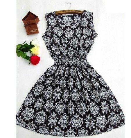 Dámské letní šaty lehké černé – Velikost L Na tento produkt se vztahuje  nejen zajímavá sleva ca303da6dd