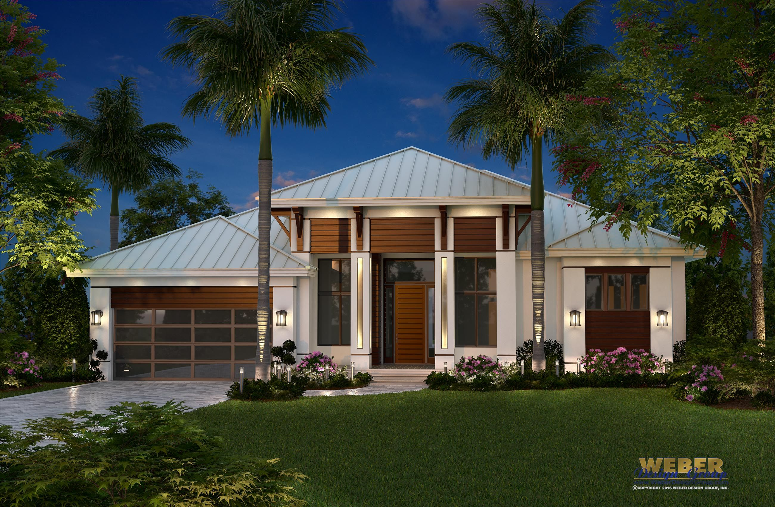 Best Kitchen Gallery: Beach House Plan Contemporary Caribbean Beach Home Floor Plan of Modern Single Story Coastal House on rachelxblog.com