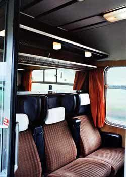 Passenger Compartments On British Trains Interior Vintage Train Compartment