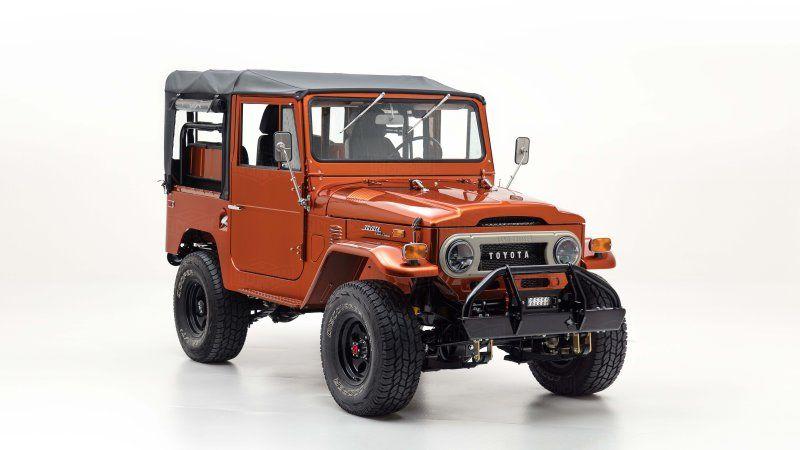This '72 Toyota Land Cruiser FJ40 was inspired by Tonka trucks