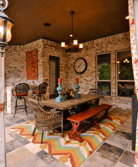 17 Wonderful Backyard Landscaping Ideas With Images Patio Decor Outdoor Remodel Outdoor Dining Room