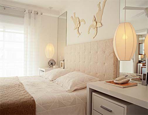Arte e decora o quartos de casal decora o leve e for Deco quarto