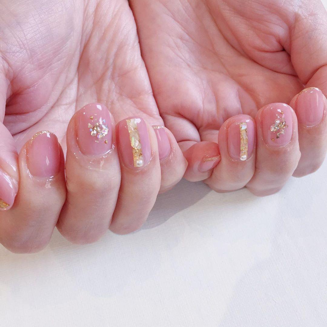 *design nail    #nail #gelnail #nailart #naildesign #ネイル #ネ…