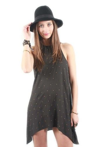 Knot Sisters Iggy Dress in Black, $108.00