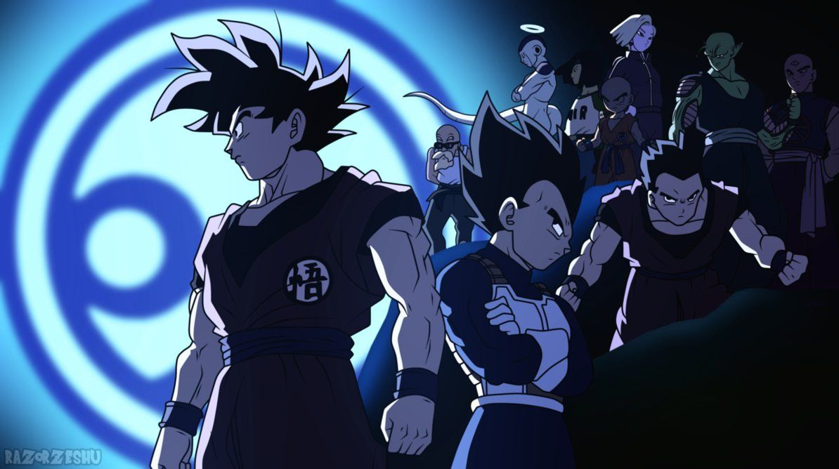 Dragon Ball Super Universe 7 Team By Razorzeshu Dragon Ball Super Dragon Ball Anime Dragon Ball