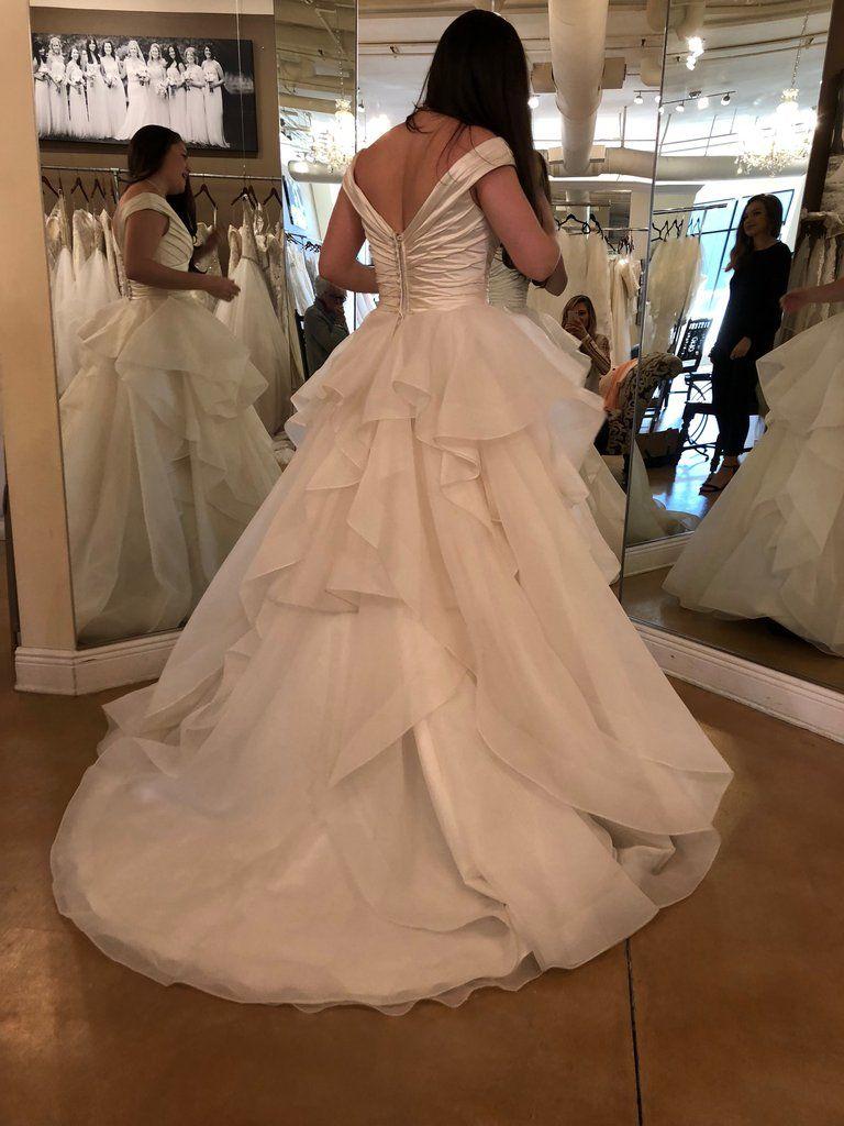 8945c8dd90ae6 Maggie Sottero 'Zulani' in 2019   Clothing   Wedding dress backs ...