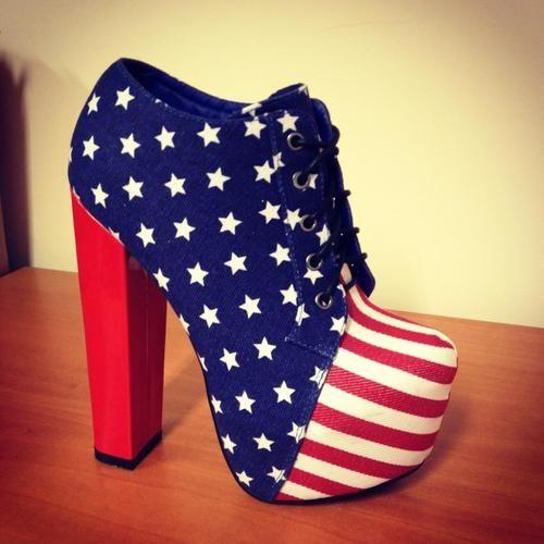 USA shoes, I want you!