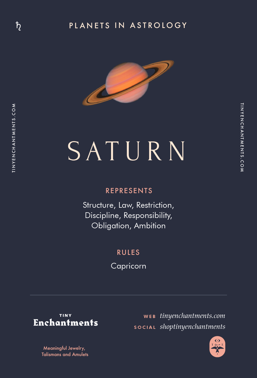 Saturn Sign in Astrology - Planet Meaning, Zodiac, Symbolism