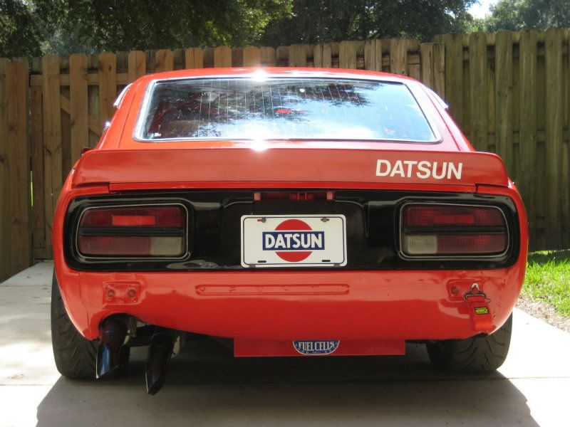 1971 Datsun 240Z Race Car  Fast In Fast Out  Pinterest  Cars