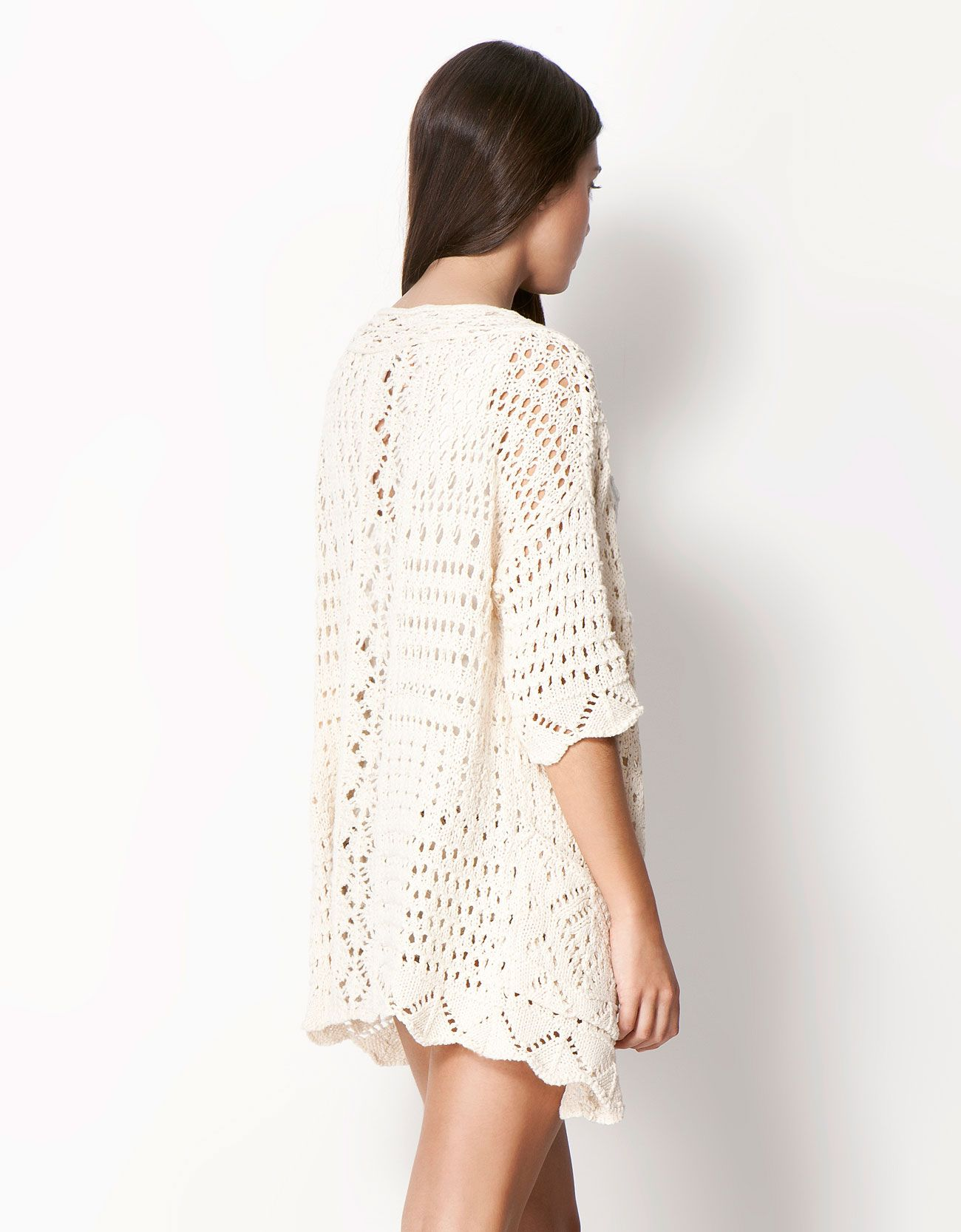 crochet jacket | cardigans.. etc | Pinterest | Bershka y Croché
