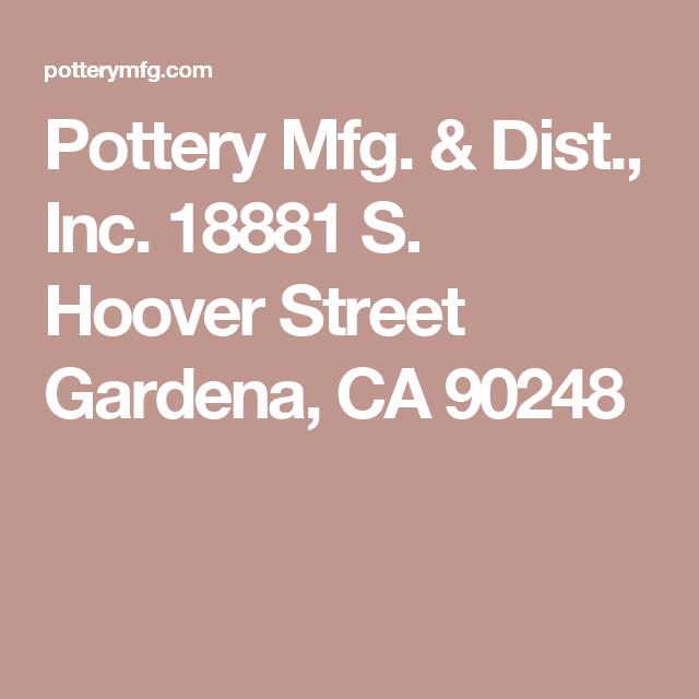 Mfg Dist Inc 18881 S Hoover