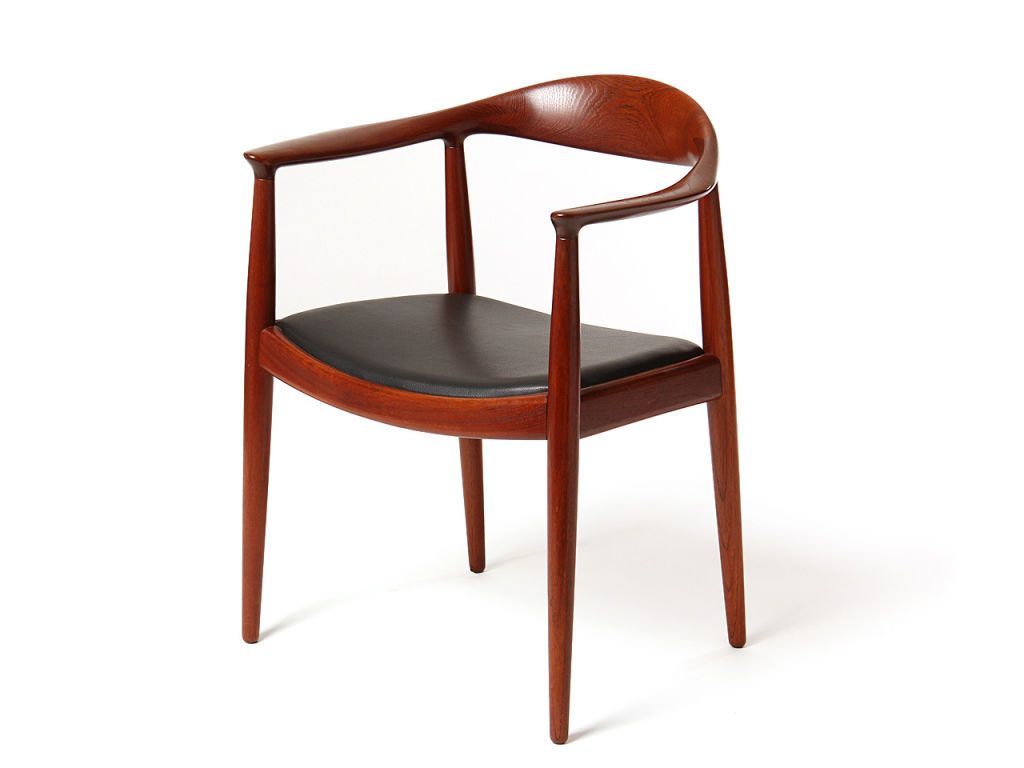 the round chair by hans j. wegner   from a unique collection of