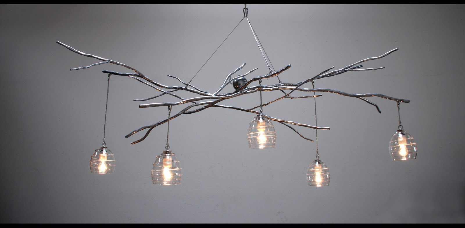 10 Rooms Woodland Chandelier Sculptural Lighting By