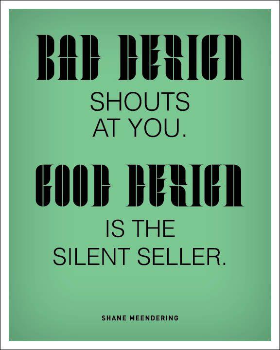 Bad Designer graphic design quote quotes design quotes