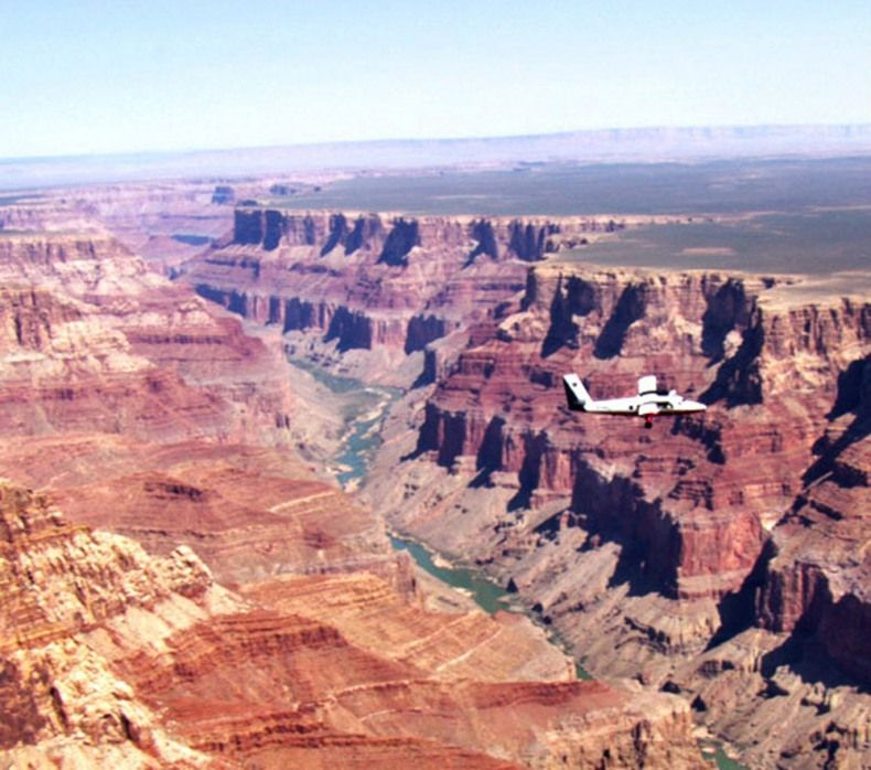 Grand Canyon Skywalk Airplane Tours Indian Adventure With