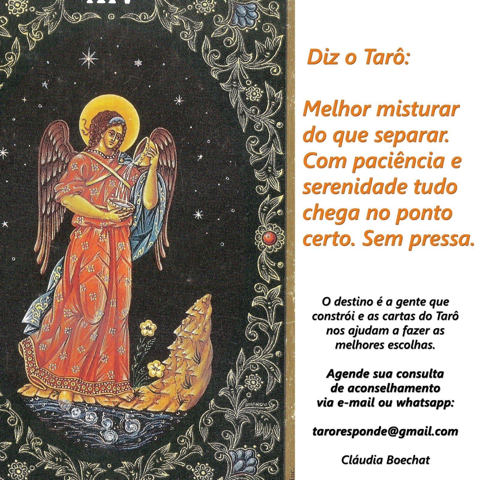 Reflexões e cartas de Tarot