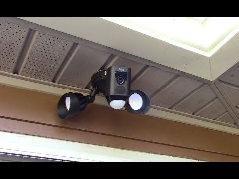 Ring Floodlight Cam Hack Mounting Horizontal Under An