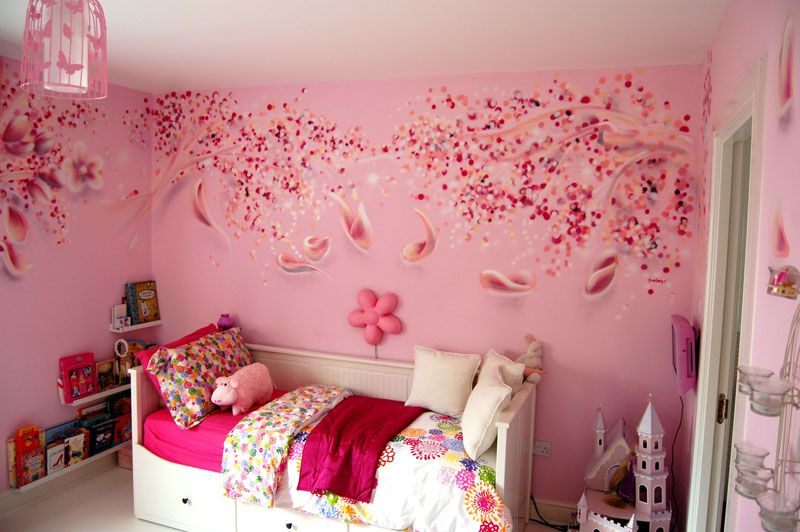Cherry Blossom Room Design | Home Design